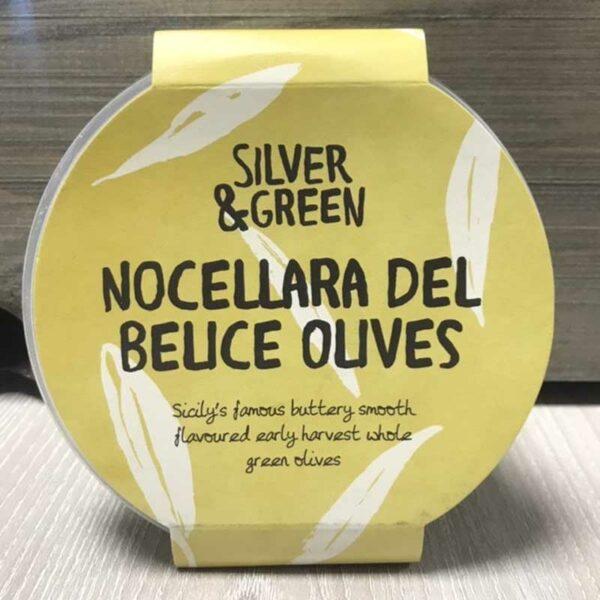 Silver & Green Nocellara Del Belice Olives