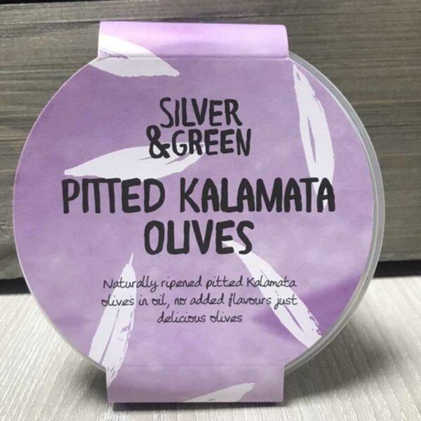 Silver & Green Pitted Kalamata Olives