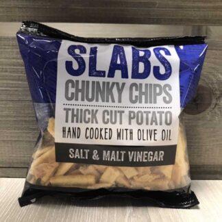 Slabs Chunky Chips Salt & Malt Vinegar (60g)
