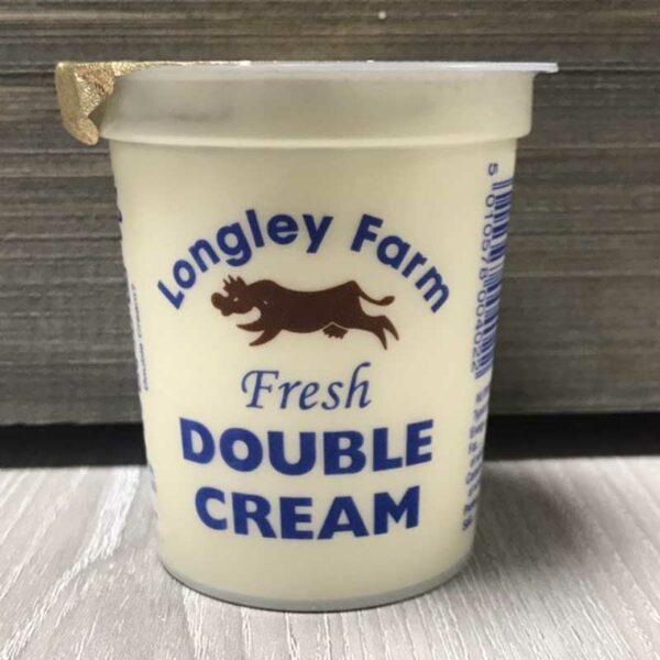 Longley Farm Double Cream 150ml