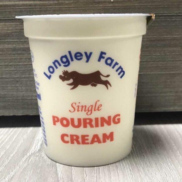 Longley Farm Single Cream (150ml)