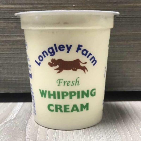Longley Farm Fresh Whipping Cream (150ml)