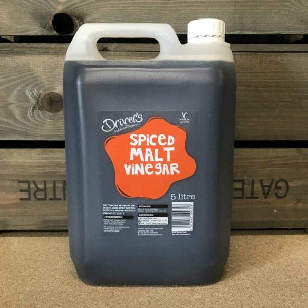 Drivers Spiced Malt Vinegar 5Ltr
