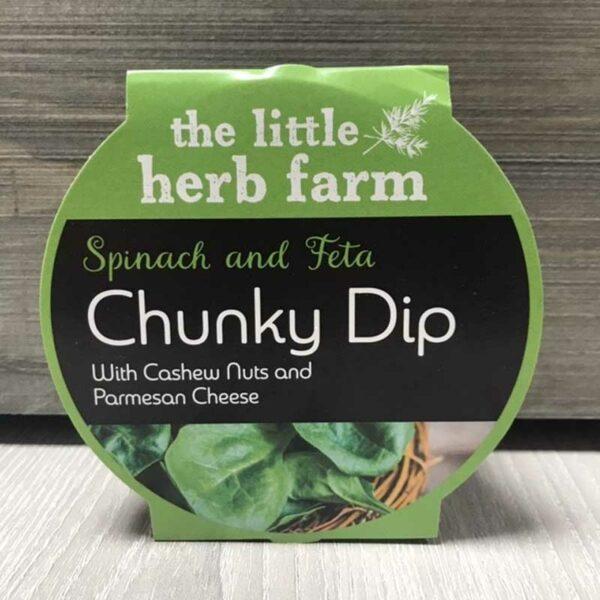 Little Herb Farm Spinach & Feta Chunky Dip (135g)