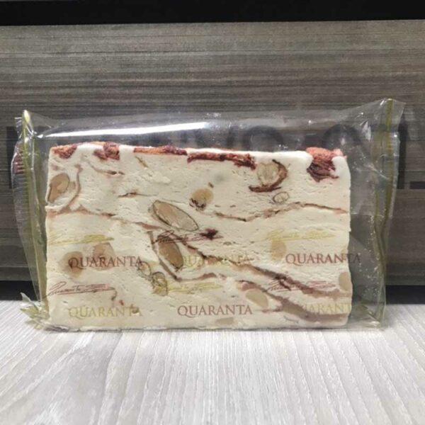 Quaranta Soft Nougat with Strawberry Crème (150g)