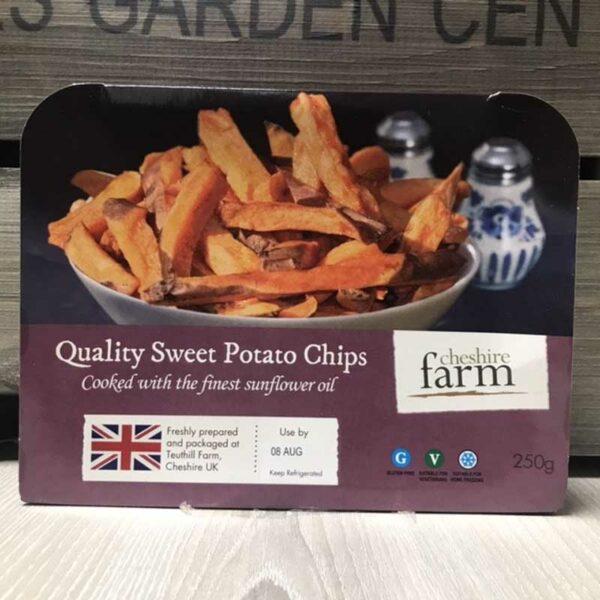 Cheshire Farm Sweet Potato Chips (250g)