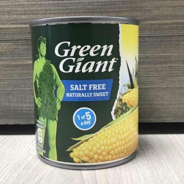 Green Giant Salt Free Sweetcorn (198g)