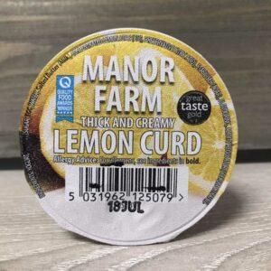 Manor Farm Lemon Curd Live Yogurt (125g)