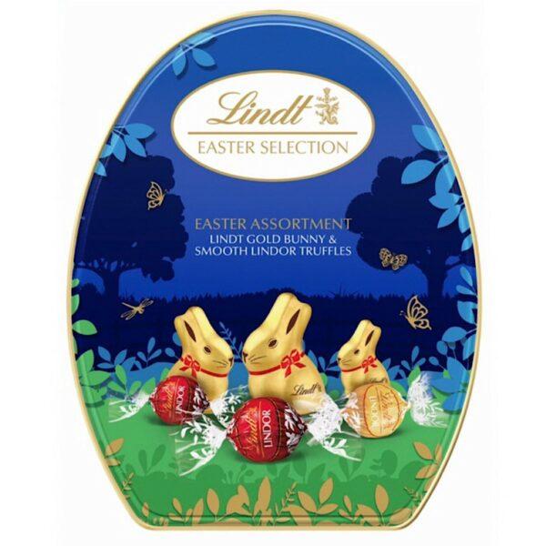 Lindt bunny tin