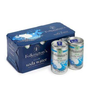 Folkingtons Club Soda Water (Pack of 8)
