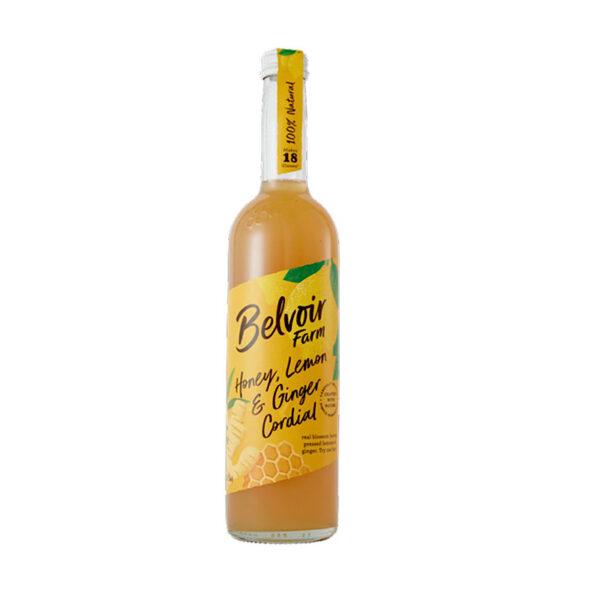 elvoir Honey, Lemon & Ginger Cordial (500ml)