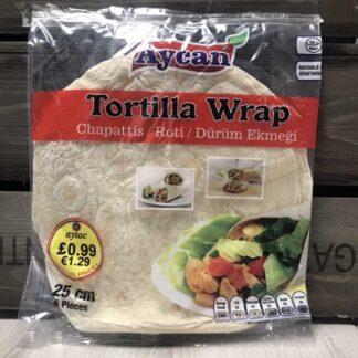 Aycan Tortilla Wrap 25cm 360g