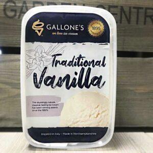 Gallone's Traditional Vanilla (1 Litre)