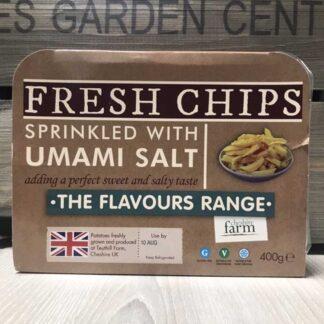 Cheshire Farm Chips with Umami Salt (400g)