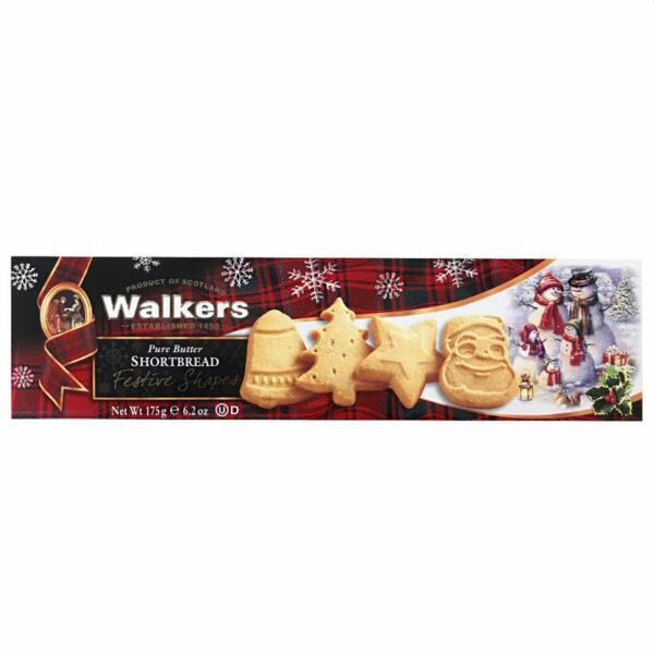 Walkers Pure Butter Shortbread - Festive Shapes (175g)