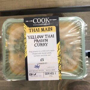 COOK Yellow Thai Prawn Curry